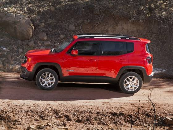 Малютка Jeep Renegade