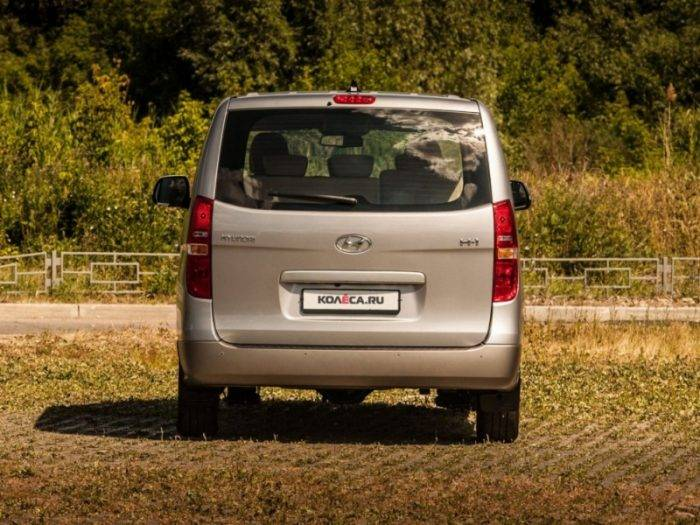Тест-драйв Citroen SpaceTourer и Hyundai H1