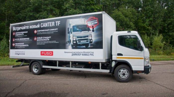 Тест-драйв нового Fuso Canter TF
