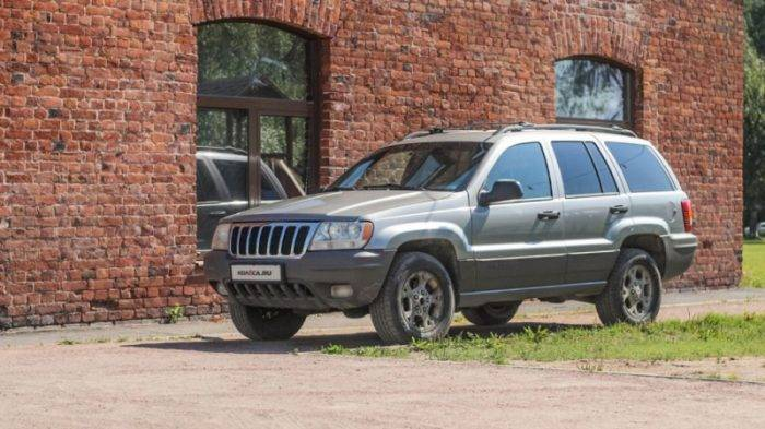 Тест драйв Jeep Grand Cherokee WJ